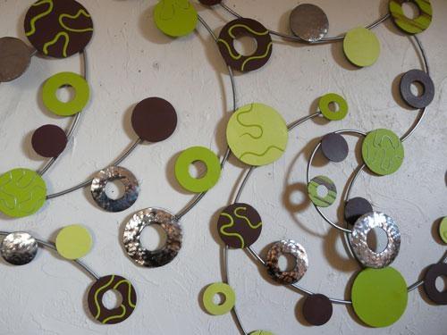 Wall Art Design Ideas: Epic Lime Green Metal Wall Art 93 About In Lime Green Metal Wall Art (Image 16 of 20)