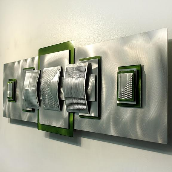 Wall Art Design Ideas: Epic Lime Green Metal Wall Art 93 About With Lime Green Metal Wall Art (Image 17 of 20)