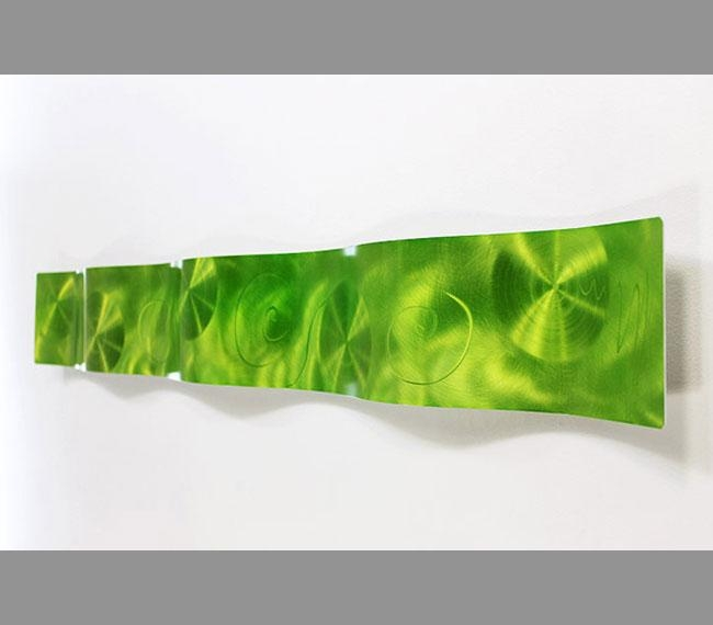 Wall Art Design Ideas: Fearsome Lime Green Wall Art Decoration Throughout Lime Green Wall Art (Image 18 of 20)