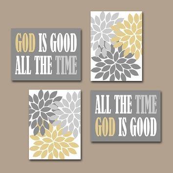 Wall Art Design Ideas: God Flowers Christian Wall Art Canvas With Christian Canvas Wall Art (View 4 of 20)