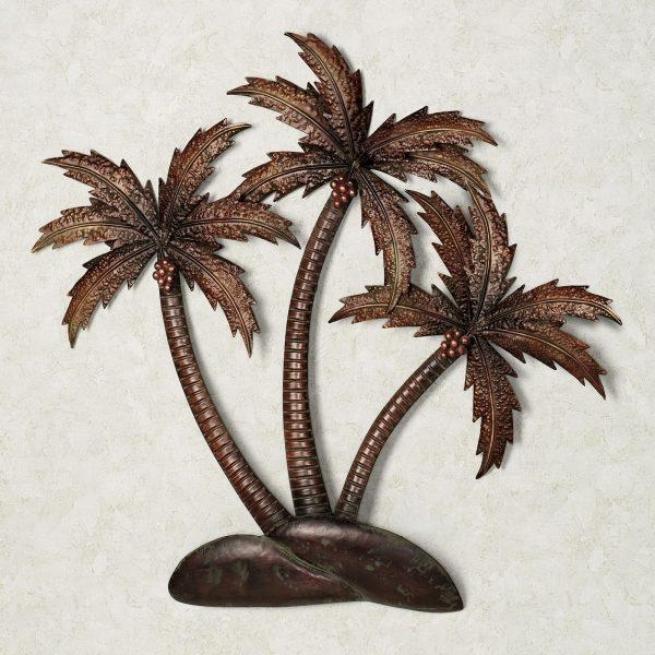 Wall Art Design Ideas : Palm Tree Metal Wall Art – Amusing Palm For Sock Monkey Wall Art (View 16 of 20)