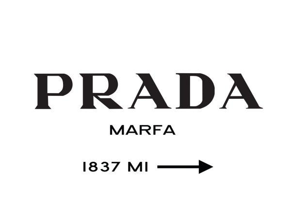 Wall Art Design Ideas : Prada Marfa Wall Art – Luxury Prada Marfa Pertaining To Prada Marfa Wall Art (Image 20 of 20)