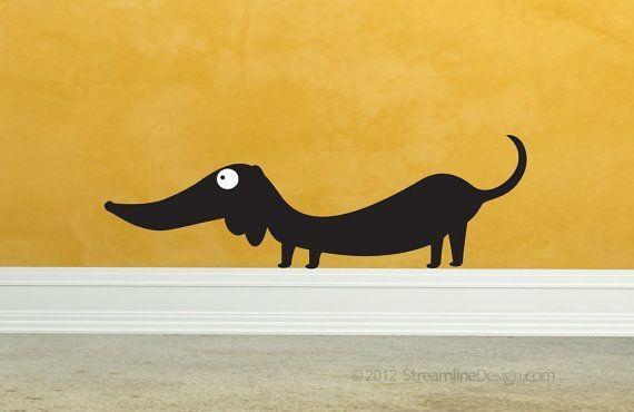Wall Art Design Ideas: Top Dachshund Wall Art, Drawings Of Regarding Dachshund Wall Art (Image 19 of 20)