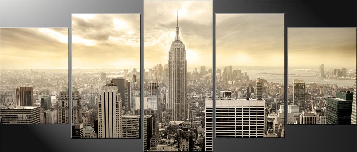 Featured Image of New York City Canvas Wall Art