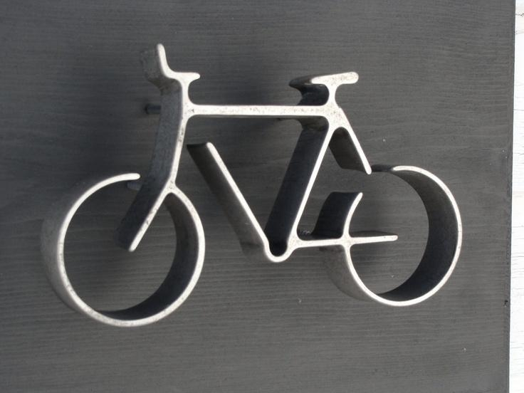Wall Art Designs: Amazing Metal Wall Art Bicycle Wire Sculpture Pertaining To Bicycle Wall Art Decor (View 8 of 20)