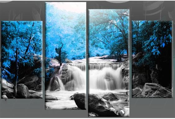 Featured Image of Waterfall Wall Art