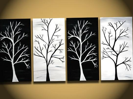 Wall Art Designs: Amusing Example Of Black And White Canvas Wall With Regard To Cheap Black And White Wall Art (Image 15 of 20)