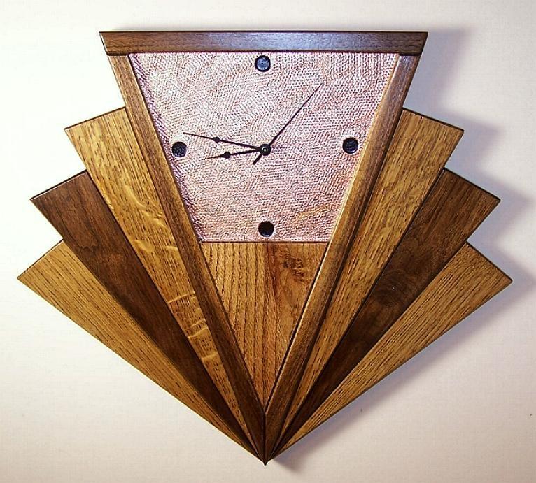 Wall Art Designs: Art Deco Wall Art Modern Starburst Wall Clock In Art Deco Wall Clocks (Image 15 of 20)