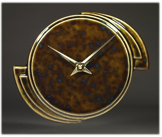 Wall Art Designs: Art Deco Wall Clock Wood Wall Clock With Art Pertaining To Art Deco Wall Clocks (Image 16 of 20)