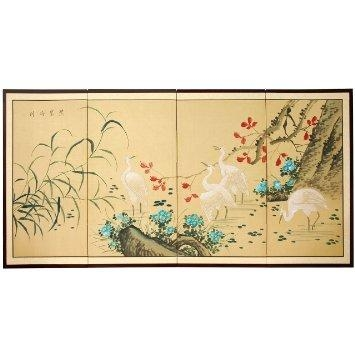 Wall Art Designs: Artistic Asian Wall Art Panels Metal Component Intended For Asian Wall Art Panels (View 17 of 20)