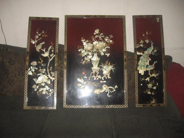 Wall Art Designs: Artistic Asian Wall Art Panels Metal Component Intended For Asian Wall Art Panels (Photo 10 of 20)