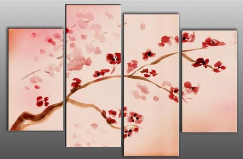 Wall Art Designs: Artistic Asian Wall Art Panels Metal Component With Regard To Asian Wall Art Panels (View 15 of 20)