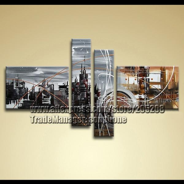 Wall Art Designs: Astounding Example Of Cityscape Canvas Wall Art In Cityscape Canvas Wall Art (Image 16 of 20)