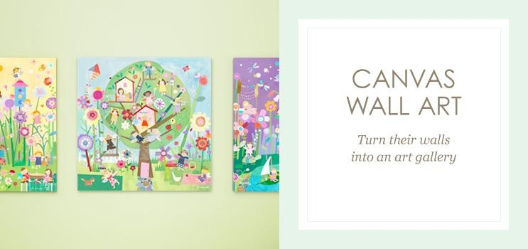 Featured Image of Kids Canvas Wall Art