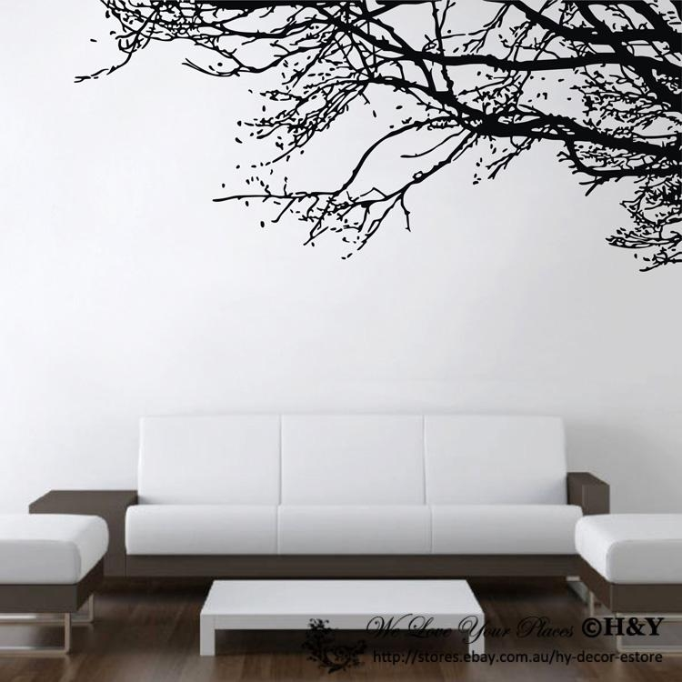 Wall Art Designs: Awesome Designed Wall Art Branches Sculptures Pertaining To Tree Branch Wall Art (Image 18 of 20)