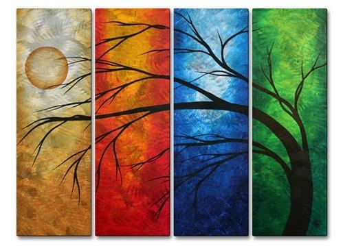 Wall Art Designs: Awesome Multi Panel Wall Art, Multi Panel Art Pertaining To Multiple Panel Wall Art (Image 15 of 20)