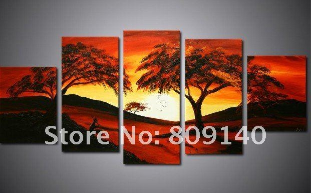 Featured Image of Oil Painting Wall Art On Canvas