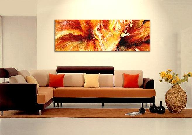 Wall Art Designs: Best Horizontal Canvas Wall Art Abstract Large Within Horizontal Canvas Wall Art (Image 13 of 20)