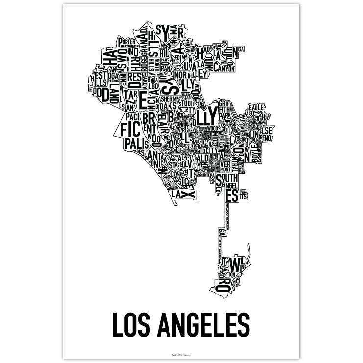 Wall Art Designs: Best Los Angeles Wall Art Canvas Wall Graphics With Regard To Los Angeles Wall Art (Image 20 of 20)