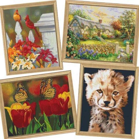 Wall Art Designs: Best Mosaic Wall Art Kits Adult Mosaics Kits For Regarding Mosaic Wall Art Kits (View 9 of 20)