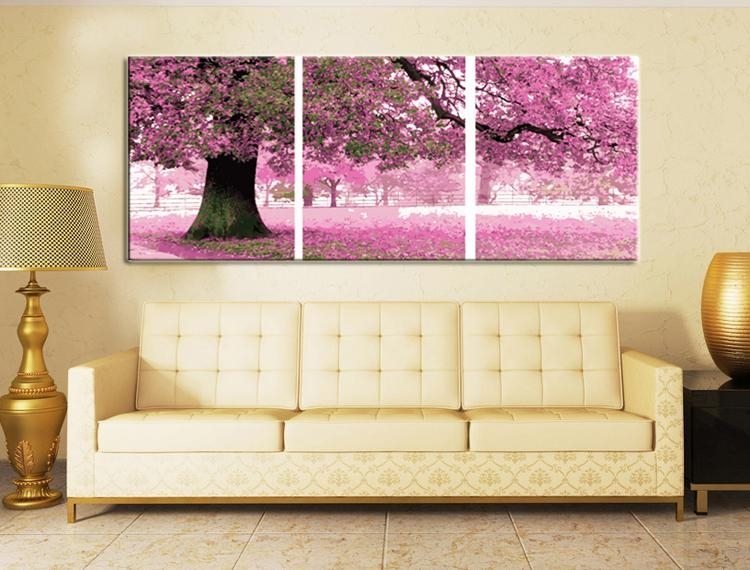 Wall Art Designs: Best Paintings 3 Piece Canvas Wall Art Sets For With Regard To Canvas Wall Art 3 Piece Sets (Image 15 of 20)