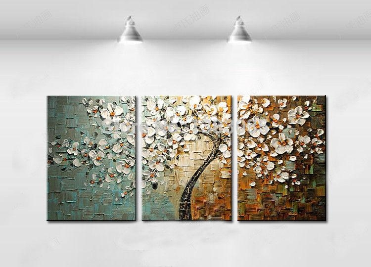 Wall Art Designs: Best Piece Photo 3Pc Wall Art Canvas Wall In 3 Piece Floral Canvas Wall Art (Image 20 of 20)
