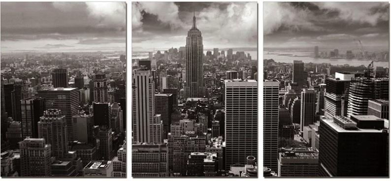 Wall Art Designs: Captivating Brooklyn Skyline Wall Art Nyc Inside New York City Wall Art (Image 16 of 20)