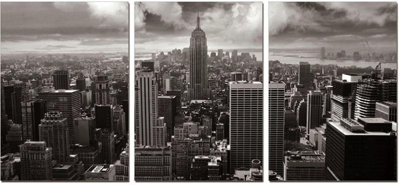 Wall Art Designs: Captivating Brooklyn Skyline Wall Art Nyc Inside New York City Wall Art (View 2 of 20)