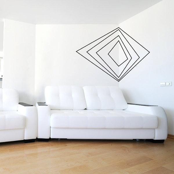 Wall Art Designs: Cool Modern Art Wall Decals Vinyl Window Murals In Cool Modern Wall Art (Image 17 of 20)
