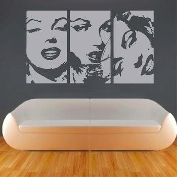 Wall Art Designs: Cool Modern Art Wall Decals Vinyl Window Murals Throughout Cool Modern Wall Art (Image 19 of 20)