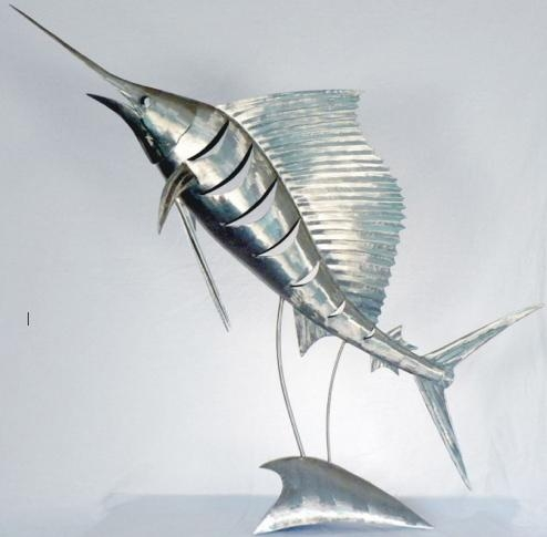 Wall Art Designs: Fish Wall Art Stainless Steel Fish Sculpture With Stainless Steel Fish Wall Art (Image 20 of 20)