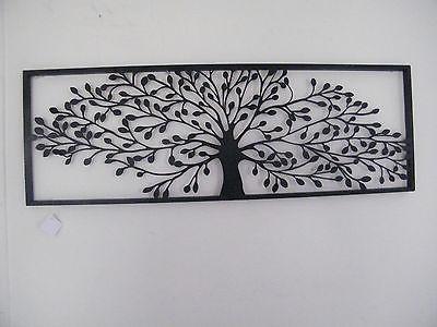Wall Art Designs: Metal Wall Art Trees Wall Art Designs Black Throughout Metal Framed Wall Art (Image 16 of 20)