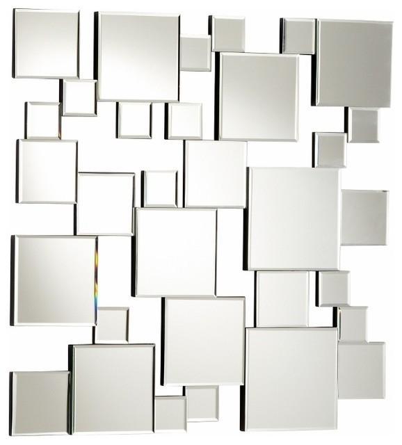 Wall Art: Abstract Mirror Wall Art (#9 of 20 Photos)