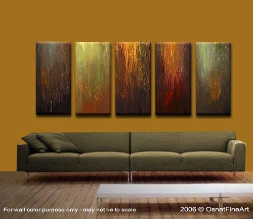 Wall Art Designs: Multi Panel Wall Art Modern Artwork Home Decor Intended For Multiple Panel Wall Art (Image 17 of 20)