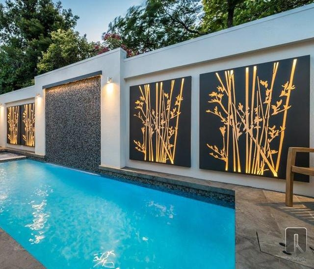 Wall Art Designs: Outdoor Wall Art Outdoor Screening And Wall In Contemporary Outdoor Wall Art (Image 19 of 20)