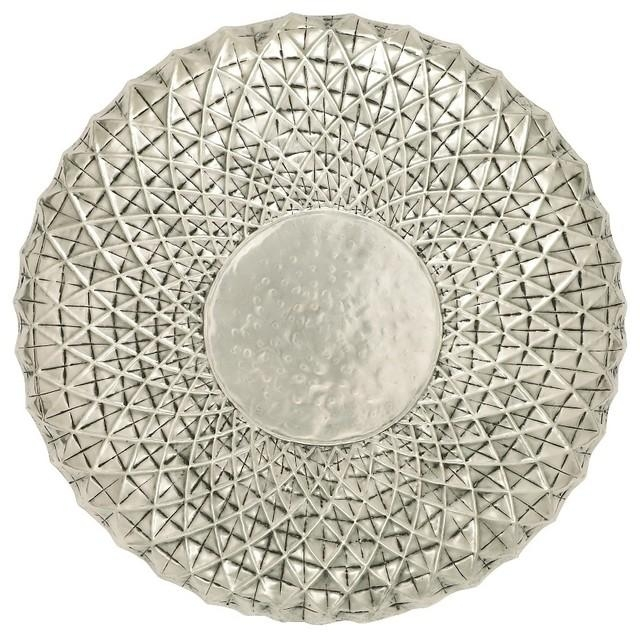 Wall Art Designs: Round Metal Wall Art Metal Wall Medallion In Large Round Wall Art (Photo 7 of 20)