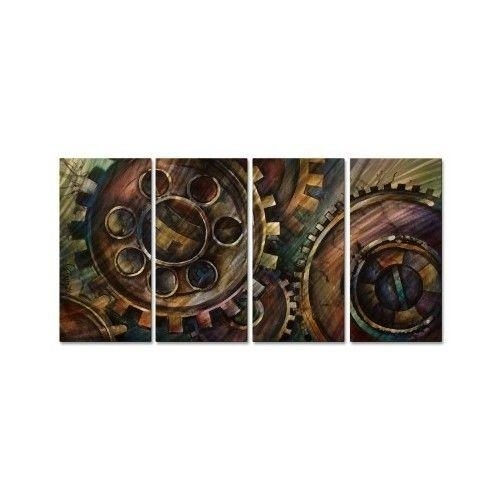 Wall Art Designs: Rustic Metal Wall Art Rustic Cardinal Metal Wall Regarding Industrial Wall Art (Image 19 of 20)