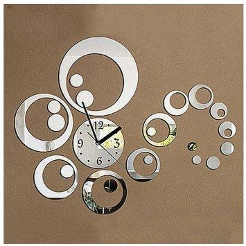 Wall Art Designs: Small Round Mirror Wall Art Decor Ideas Clock Within Small Round Mirrors Wall Art (Image 13 of 20)
