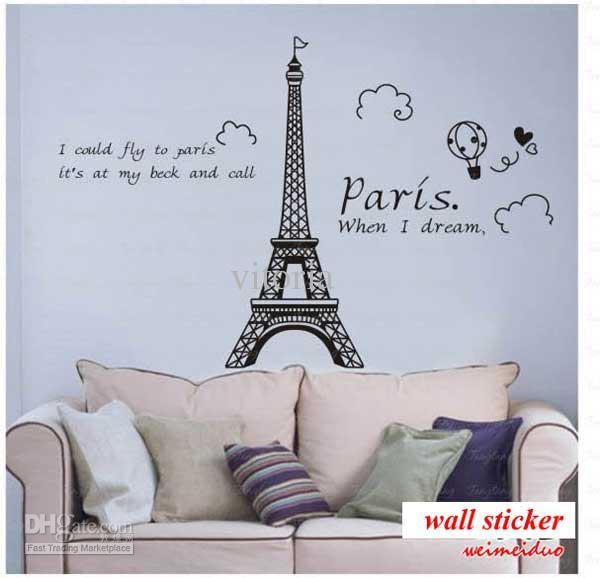 Wall Art Designs: Stuff Themed Wall Art Paris Girls Room For Paris Vinyl Wall Art (Image 18 of 20)