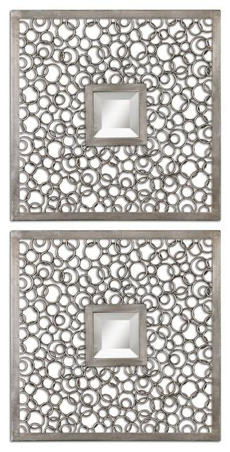 Wall Art Designs: Stunning Decorative Wall Art With Mirrors With Inside Metal Framed Wall Art (Image 18 of 20)