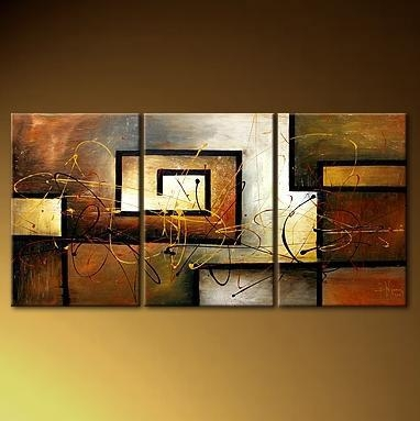 Wall Art Designs: Stunning Museum Of Wall Art 3 Piece With With 3 Piece Modern Wall Art (Image 18 of 20)