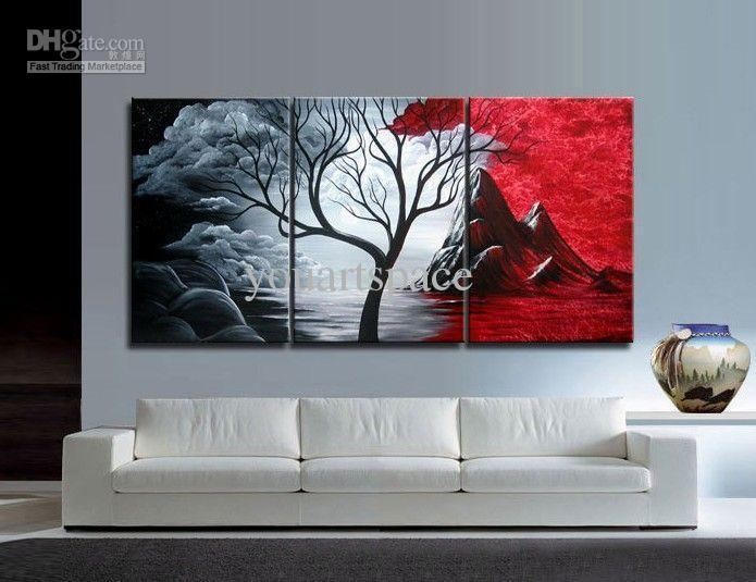 Wall Art Designs: Stunning Museum Of Wall Art 3 Piece With With Cheap Abstract Wall Art (View 8 of 20)