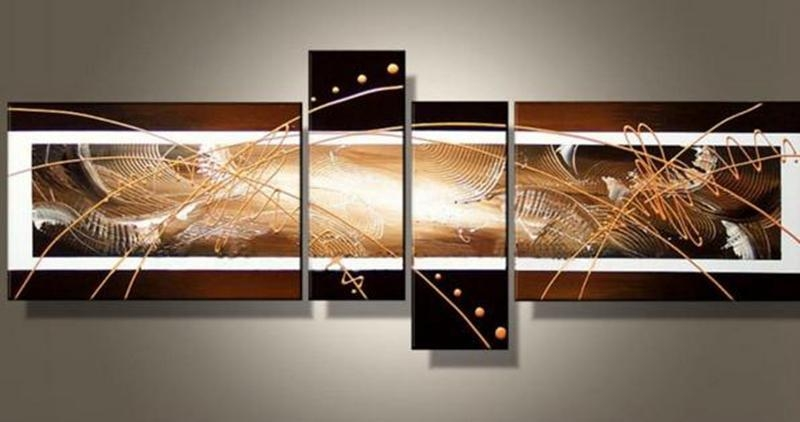 Wall Art Designs: Stunning Painted 7 Piece Canvas Wall Art With With Regard To 7 Piece Canvas Wall Art (Image 20 of 20)