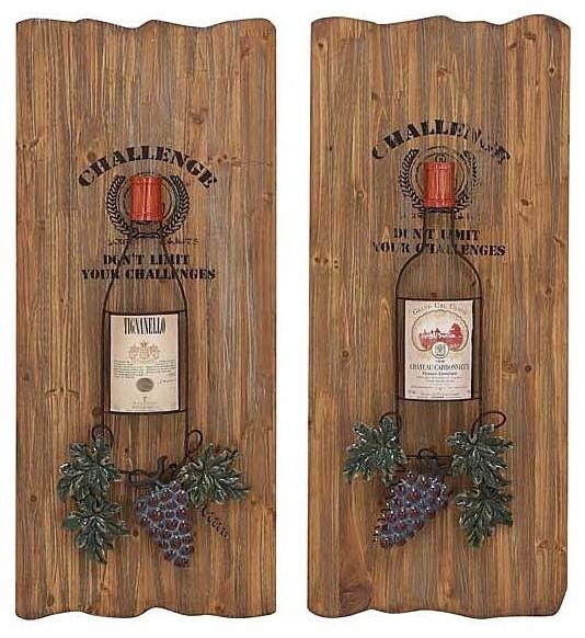 Wall Art Designs: Terrific Vineyard Wall Art Wine Decor Kitchen With Regard To Vineyard Wall Art (View 7 of 20)