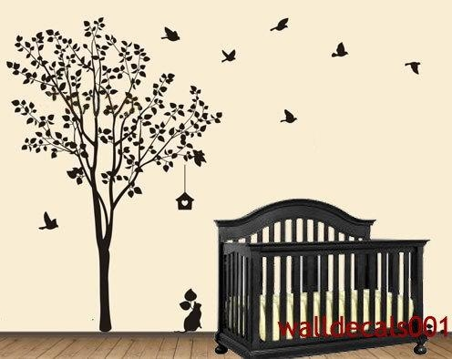 Wall Art Designs: Top 10 Wall Art Tree Decal Stickers For The Best For Vinyl Wall Art Tree (View 16 of 20)