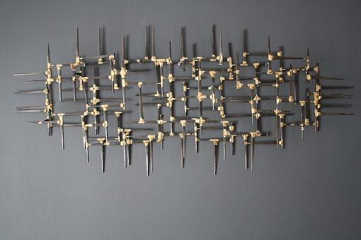 Wall Art Designs: Top Modern Abstract Metal Wall Art Sculpture With Regard To Outdoor Wall Sculpture Art (View 18 of 20)