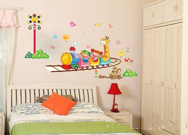 Wall Art Designs: Top Wall Art Stickers Childrens Rooms Ikea Wall Pertaining To Wall Art Stickers For Childrens Rooms (Image 18 of 20)