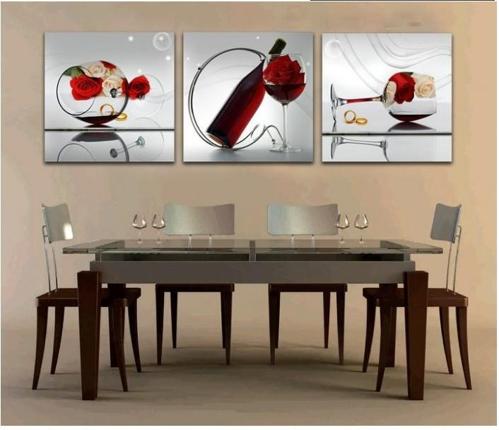 Wall Art Designs: Wall Art For Dining Room Contemporary Wall Art With Dining Area Wall Art (Photo 11 of 20)