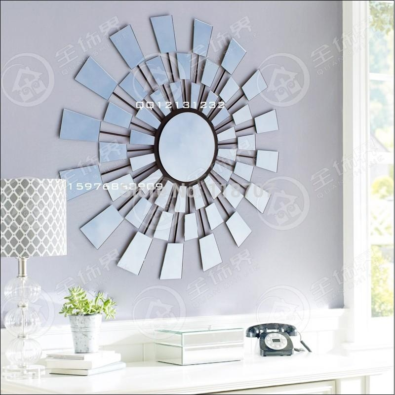 Wall Art Designs: Wonderful Wall Art Mirror From Glass With In Wall Art Mirrors Contemporary (Image 17 of 20)
