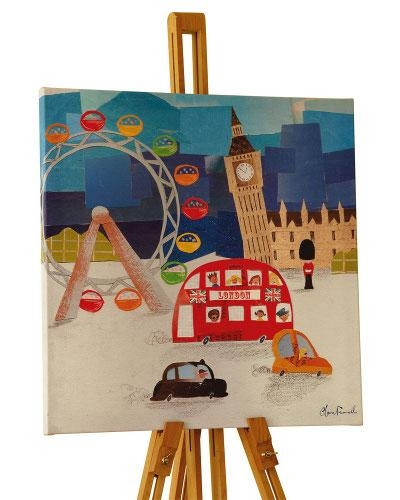 Wall Art For Children's Rooms – Junior Rooms For London Scene Wall Art (Image 15 of 20)